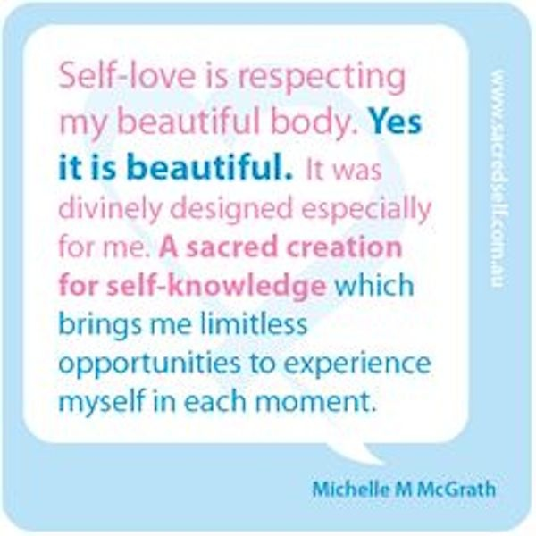 Positive Body Image Quotes Journey Anne Sophie Reinhardt