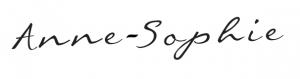 anne-sophie signature